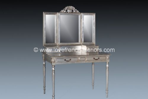 Isabelle Dressing Table and Triple Mirror